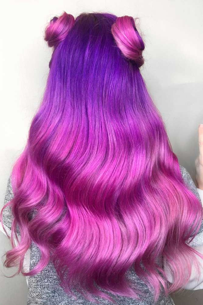 50+ Fabulous Purple and Blue Hair Styles | LoveHairStyles.com