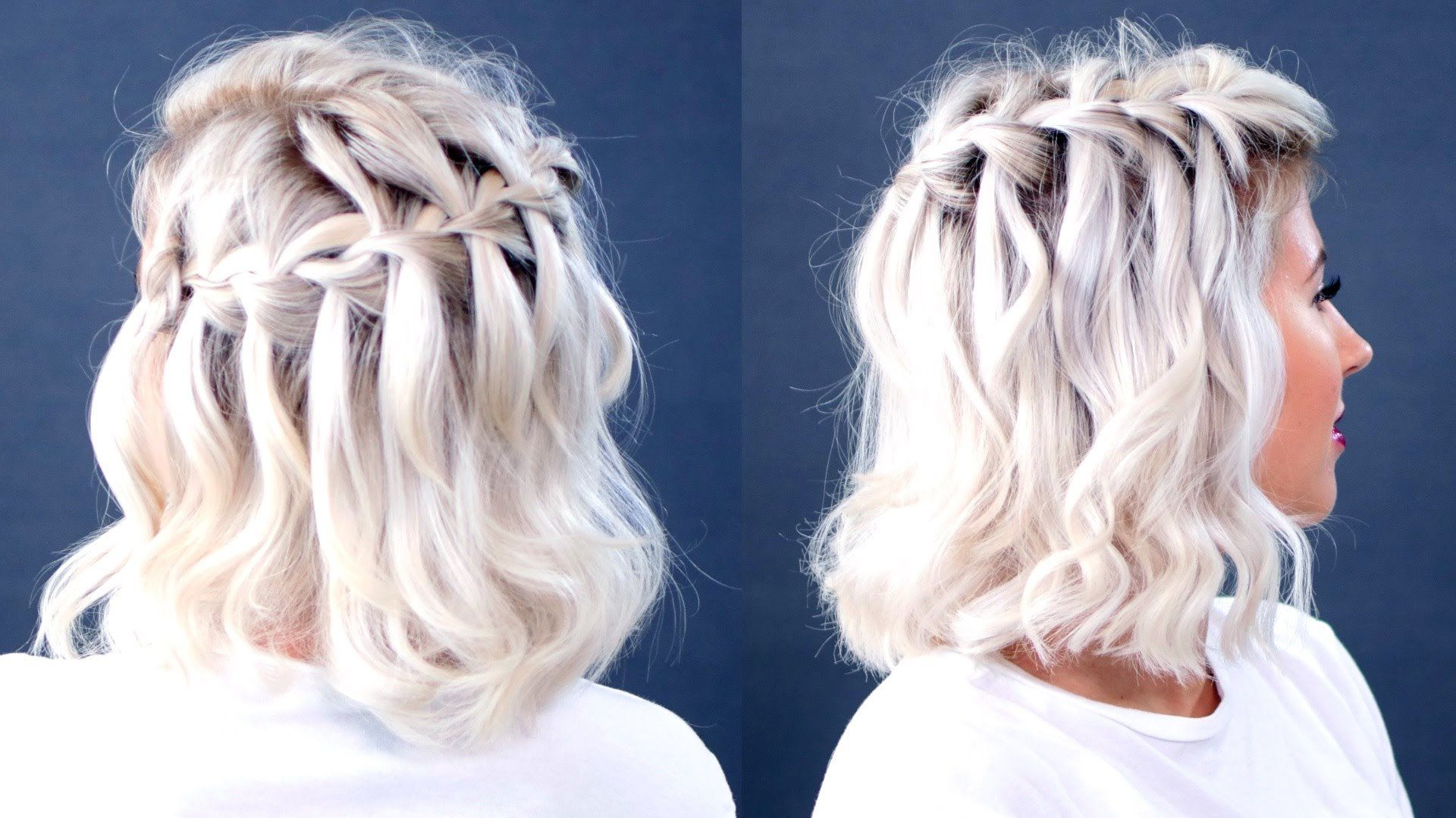 Braided shoulder-length hair: 15+ easy-to-use instructions for every day – HaircutsBlog