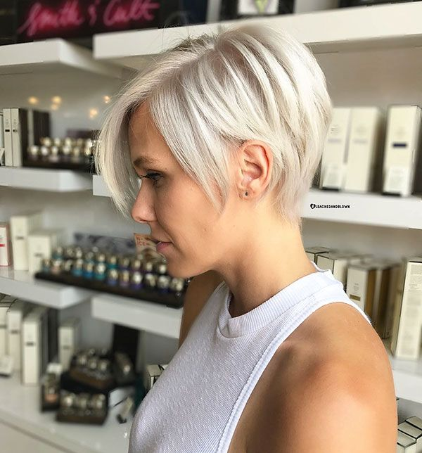 60+ New Short Blonde Hairstyles 2019 – Love this Hair