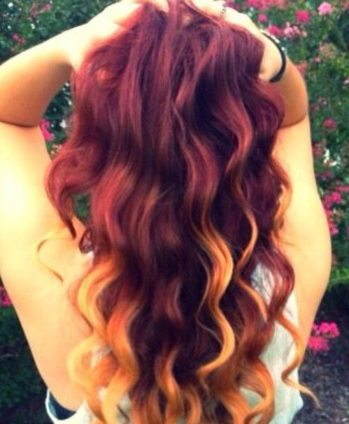 Hair Color Trends for 2020: Red Ombre Hairstyles – Pretty Designs