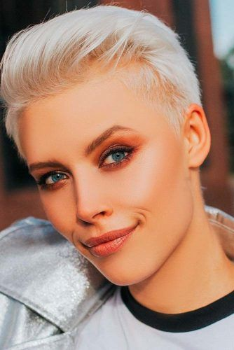26 Blonde Pixie Haircuts Looks Like Katy Perry | LoveHairStyles.com