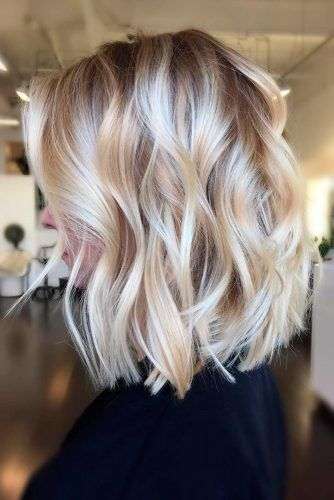 42 Chic Medium Length Layered Hair | LoveHairStyles.com