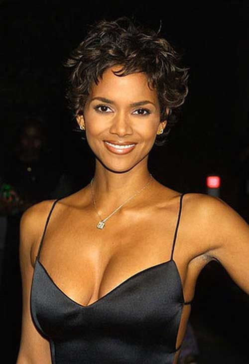 20 Best Halle Berry Short Curly Hair | Short Hairstyles & Haircuts | 2018 – 2019