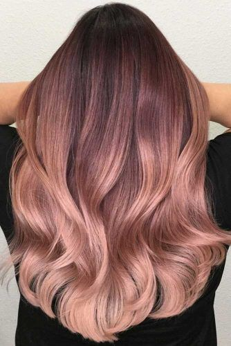 Why And How To Get A Rose Gold Hair Color | LoveHairStyles.com