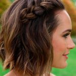 17 braided hairstyles for short hair – look nicer with these haircuts - New Site