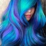 18 Hot Geode Hair Color Styles