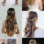 20 Brilliant Half Up Half Down Wedding Hairstyles for 2019 - EmmaLovesWeddings
