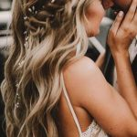 20 Sensible Half Up Half Down Wedding ceremony Hairstyles for 2019 - LastStepPin