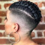 20 Trendy Ways to Wear Braids with Shaved Sides