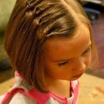 20 beautiful simple and sweet hairstyles for little girls - Mary Haircuts
