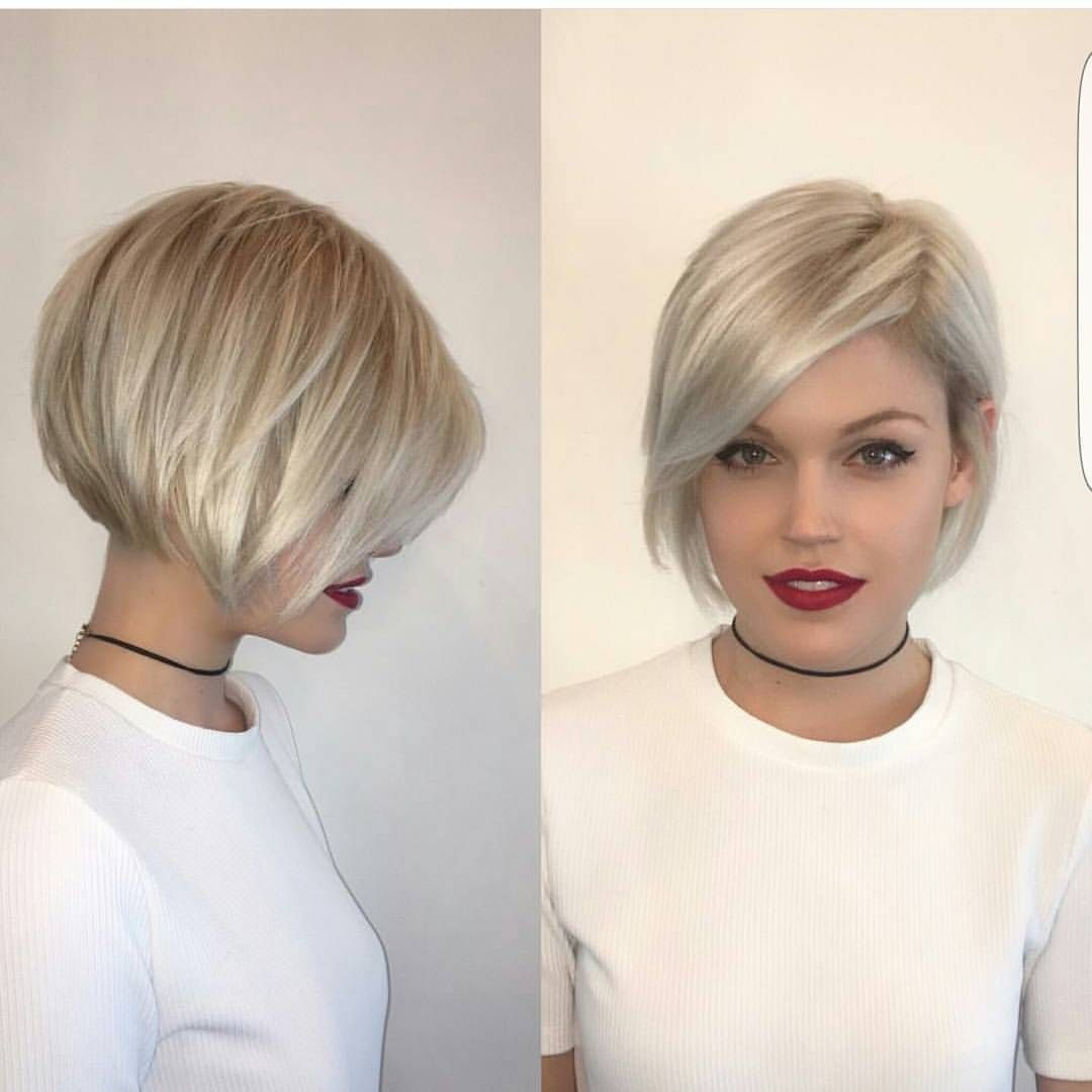 2019 Short bob hairstyles-trendy celebrities look! donnot miss the look