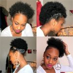 21. Four Quick easy styles for Short Natural Hair
