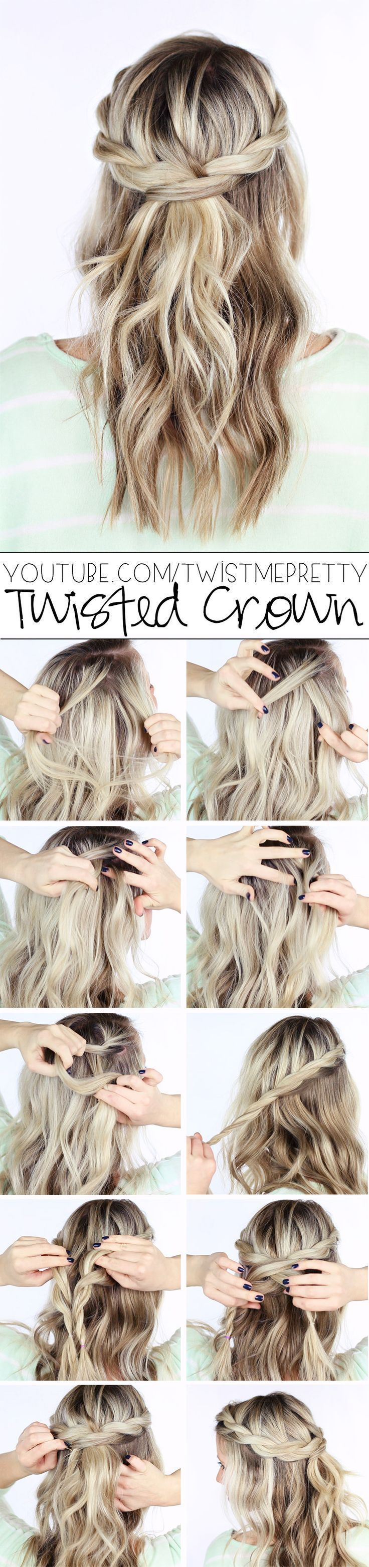 22 Easy Hairstyles for Girls with Tutorials