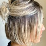 24 Easy And Fancy Ideas Of Wearing Hair Bun For Short Hair