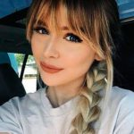 24 Popular Fringe Bangs Hairstyles for Women