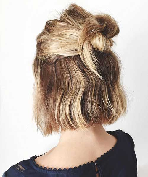 25+ Cute And Easy Hairstyles For Short Hair – Love this Hair