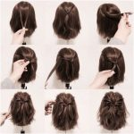 25 fast hairstyles for medium and long hair for every day. - Trending Topics