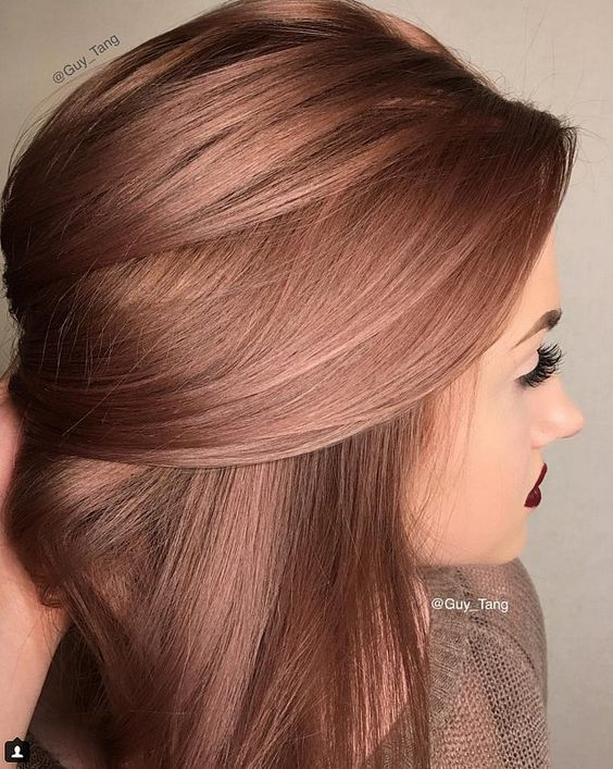 30+Rose Gold Inspired Magical Looks (hairstyle,nail,makeup,outfits…)