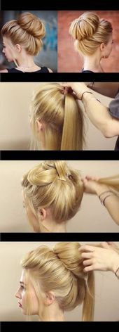 33 Quick and Easy Hairstyles for Straight Hair – #hairstyles #quick #straight – …
