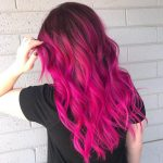 33 Stylish Pink/Red Ombre Hairstyles for Medium