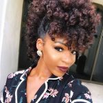 35 Frohawk Styles and How-To Guide for Natural Hair Women