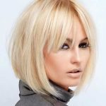 35 Short Hairstyles with Bangs For Women - Hottest Haircuts