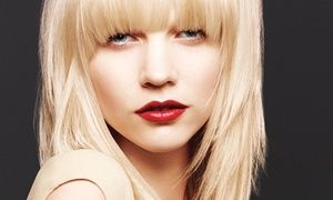 $35 for a Haircut Package with $20 Toward a Color Service at Que Bella Aveda Salon ($95 Value)