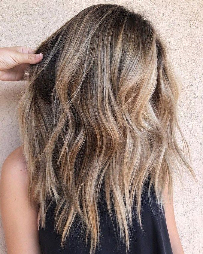 40+ Stylish Blonde Balayage Hairstyle Ideas You Need to Try in 2019 #hairstylefo…