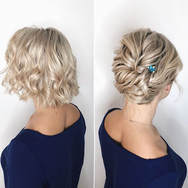40+ Wedding Hairstyles for Short Hair – Love this Hair