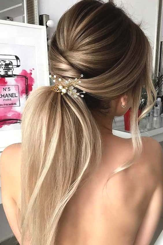 45 Favourite Wedding Hairstyles For Long Hair