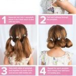 5 fast, easy, cute hairstyles for girls - Frisyrer