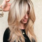 50 Cute and Effortless Long Layered Haircuts with Bangs - hair styles for short hair