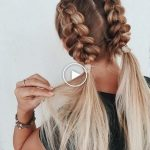 50 updos contemporáneos para cabello largo