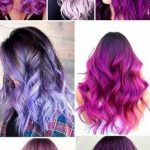 52 Ideas For Hair Highlights Purple Violets Shades#BeautyBlog #MakeupOfTheDay #M...