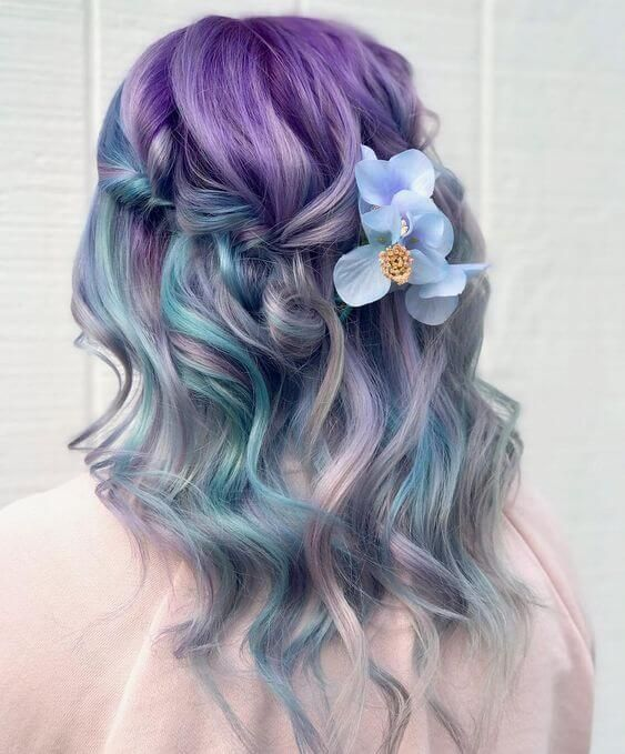 52 Ombre Rainbow Hair Colors To Try Latest Fashion Trends for Women sumcoco.com
