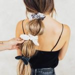 Adorable Hair Scrunchies And Styles That You Can Do With Them