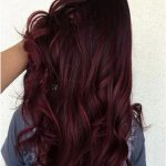 Are you feeling extra fresh? Try this Cherry Wine hair color for a new you. #hia...