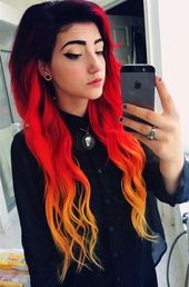 Awesome adorable emo hairstyle ideas for girls #offensive #sweet …