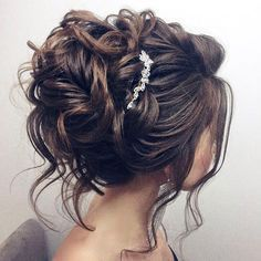 Beautiful updo wedding hairstyle for long hair perfect for any wedding venue – Hairstyles