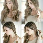 Beauty // Half Up Side Braid Hair Tutorial - Lauren McBride