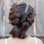 Braided shoulder-length hair: 15+ easy-to-use instructions for every day - HaircutsBlog