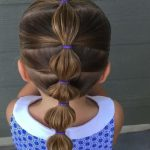 """Cami 🎀 Toddler Hair Ideas on Instagram: """"•VIDEO•  How to do a simple bubble ponytail. This one is PERFECT for busy mornings or school days because it's QUICK! This whole style took…"""""""