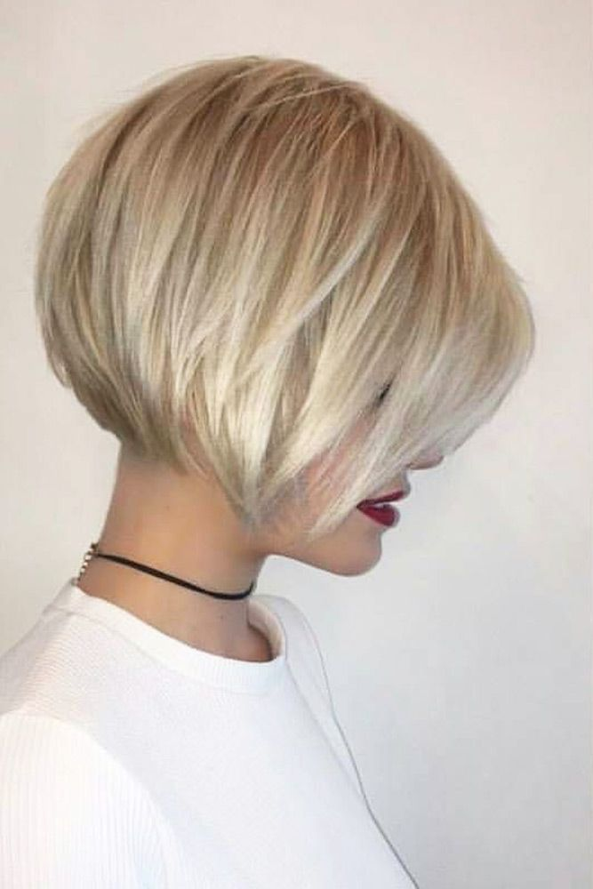 Charming Short Hairstyles with Bangs Specially for You ★ See more: lovehairsty