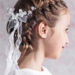 Communion hairstyles that make for beautiful memories- Matching communion hairst...
