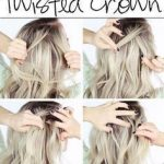 Cool and Simple DIY Hairstyles – Twisted Crown Braid – Quick and Easy Ideas for … #Braid #Cool #Crown #simple #clothes - New Site