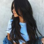 Dark brown long hairstyles women - New Site