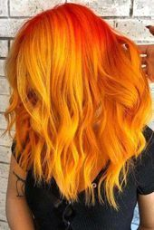 Discover The Captivating Orange Hair Rainbow: From Sweet Pumpkin To Burning Fier