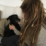 Dreadlocks hairstyles with wooden beads