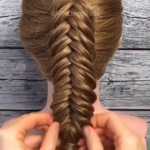 Dutch Fishtail Braid😍😍😍💓💓💓