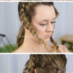 Dutch braided up-do | Fast DIY Prom Hairstyles for Medium H  #styles #braided #medical #netherlands - Site Today